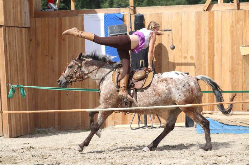 Wie du ein richtig gelassenes Pferd bekommst! Tipps von einer Stuntfrau aus ihrem Training mit Showpferden 10
