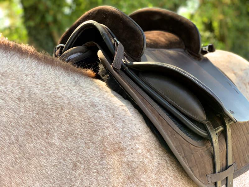 Lederbaum Sattel Pferd