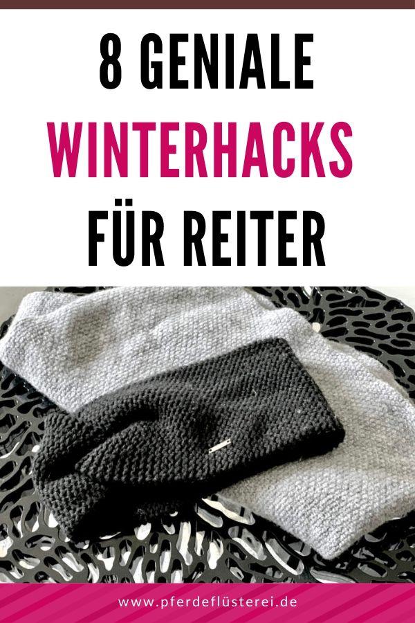8 geniale Winter-Hacks für Reiter 1